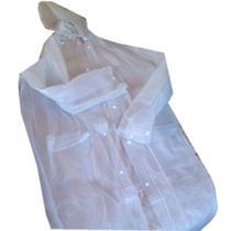 Capa de Chuva Tamanho G Transparente - Classe By Plat1