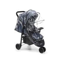 Capa de chuva universal para carrinho de bebe bb352 - MULTILASER
