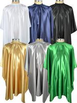 Capa De Corte cabelo cetim profissional kit 6 unidades - Pentale