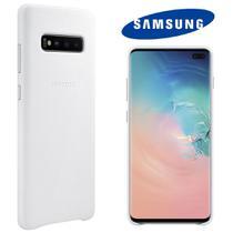 Capa de Couro Original Samsung Galaxy S10 Plus 6.4 pol SM-G975 -