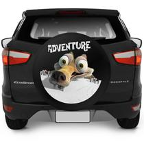 Capa De Estepe Ecosport 2003 A 2018 Adventure Era Do Gelo Com Cadeado - Flash tapetes