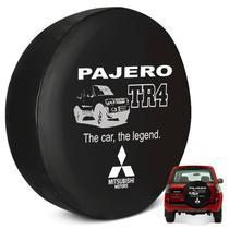 Capa de Estepe Pajero TR4 2002 a 2015 Sem Cadeado PVC - Flash Tapetes