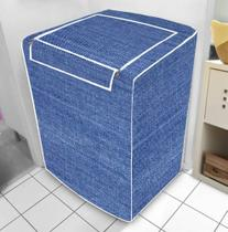 Capa De Máquina De Lavar Jeans Zíper G Electrolux 13 Kg + Brinde - Vida Pk
