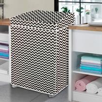 Capa de máquina de lavar zig zag - G - Vida Pratika