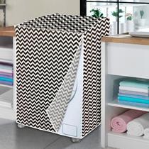 Capa de máquina de lavar zig zag - GG - Vida Pratika