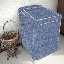 Capa De Máquina Para Lavar Electrolux Zíper Tam G 12 13 e 15 Kg Jeans - Homevp