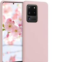 Capa De Silicone Aveludada Premium Flexível Samsung Galaxy S20 Ultra Tela 6.9 - Dv