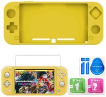 Capa De Silicone Nintendo Switch Lite com Pelicula de Vidro - SND