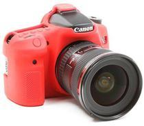 Capa de Silicone para Canon SL1 - Vermelha - Discovered