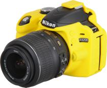 Capa de Silicone para Nikon D3200 - Amarela - Discovered
