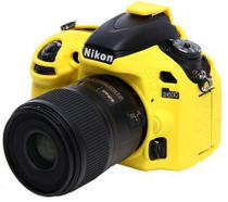Capa de Silicone para Nikon D600 e D610 - Amarela - Discovered