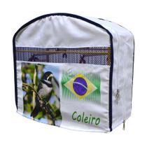 Capa de Tecido para Gaiola de Coleira - Luxo - Horizonte