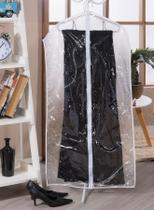 Capa de Vestido Avulso com Zíper Material Resistente Transparente - Ntb Embalagens
