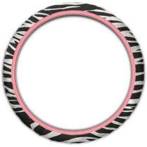 Capa de Volante Fashion Zebra Chimpa -