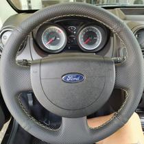 Capa de Volante Furadinho Preto para o Ford Fiesta 08/13 - Fenix automotivo
