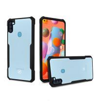 Capa Dual Shock X Preta Para Samsung Galaxy A11 - Gshield - Gorila Shield