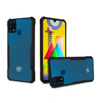 Capa Dual Shock X Preta Para Samsung Galaxy M31 - Gshield - Gorila Shield