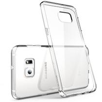 Capa Dura Acrílica Transparente Celular Samsung S6 Edge - Hanpinyou
