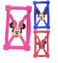 Capa Emborrachada Bumper p/ Tablet 7 Polegadas Minnie Mickey Mouse - Anti Queda