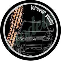 Capa Estepe Pneu Exclusiva Mitsubishi Pajero TR4 4WD CN981 - Lorben -