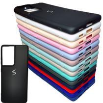 Capa Flexível Fosca Samsung Novo Galaxy S21 Ultra Tela 6.8 - Tipo