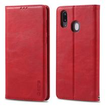 Capa Flip Carteira Samsung Galaxy M10 - Vermelho - Matte