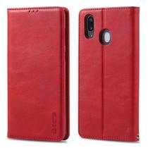 Capa Flip Carteira Samsung Galaxy M30 - Vermelho - Matte