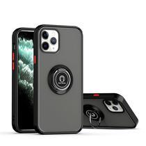 Capa fosca com anel magnético - Iphone 6/6S - Preto - Veryrio