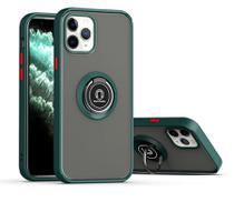 Capa fosca com anel magnético - Iphone XR - Verde - Veryrio