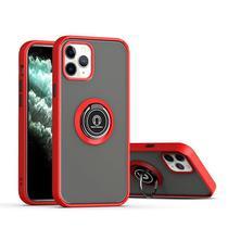 Capa fosca com anel magnético - Samsung J4 Plus - Vermelho - Veryrio