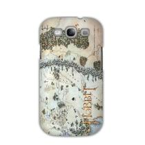 Capa Galaxy S3 - Mapa Middle Earth / Terra Média - O Hobbit - Case4u