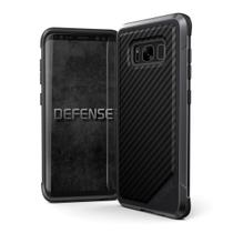 Capa Galaxy S8 Plus S8+ X-Doria Defense Lux Fibra de Carbono Certificada Classe Militar: MIL-STD-810 -