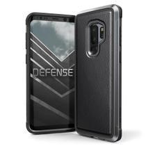 Capa Galaxy S9 Plus X-Doria Defense Lux Couro Military Grade Drop Proteção em Alumínio Premium -