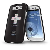 Capa Gel Shell Wit Samsung Galaxy S3 I9300 Coldplay - Diversos