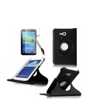 Capa Giratória Tablet Galaxy Tab A T110 T111 + Pel. de Vidro - Renew