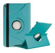 Capa Giratória Tablet Galaxy Tab A7 10.4 (2020) T500 / T505 Azul claro + Caneta touch - Fam