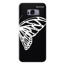Capa Grafite Personalizada para Samsung Galaxy S8 G950 - Borboleta - GF10 - Matecki