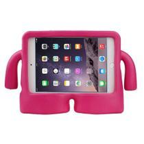 Capa Iguy iPad Mini 1 2 3 4 Anti Choque Infantil - Rosa -