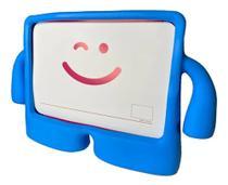 Capa Iguy iPad Mini Anti Choque Infantil Azul + Caneta touch - Fam