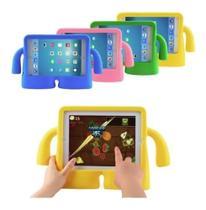 Capa Iguy iPad Mini Anti Choque Infantil Emborrachada Amarela + Caneta - Fam