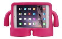 Capa Iguy iPad Mini Anti Choque Infantil Rosa pink + Caneta touch - Fam