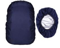 Capa Impermeável Mochila Grande Azul Marinho - Import