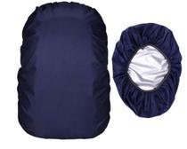 Capa Impermeável Mochila Média Azul Marinho - Import