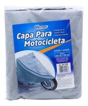 Capa Impermeável Para Cobrir Moto Motocicleta Tam Médio - Western