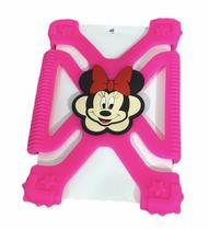Capa Infantil Anti Impacto para Tablet Universal de 7 a 8 Polegadas Bumper Da Minnie - Protege
