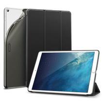 Capa iPad 7 10.2 (7ª Geração) Case Folio Silicone Premium Preto - Esr