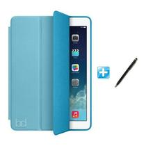 "Capa iPad Air 3 10,5"" - 2019 Smart Case / Capa Traseira / Caneta Touch (Cor Azul) - Bd Cases"