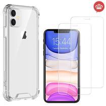 Capa iPhone 11 6.1 Poleg Anti Impactos Quedas + 2x Películas de Gel - Coronitas Acessorios