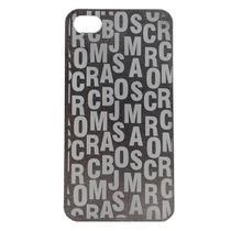 Capa Iphone 4/4S Jacobs Letras Prata - Idea -