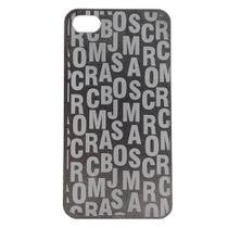 Capa iPhone 4/4s Jacobs Letras Preto - IDEA